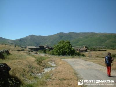Preparando la marcha en Becerril; viajes en otoño; viajes alternativos singles